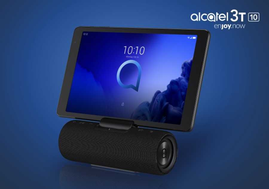 3T 10 : Nouvelle tablette Alcatel TCL 2019